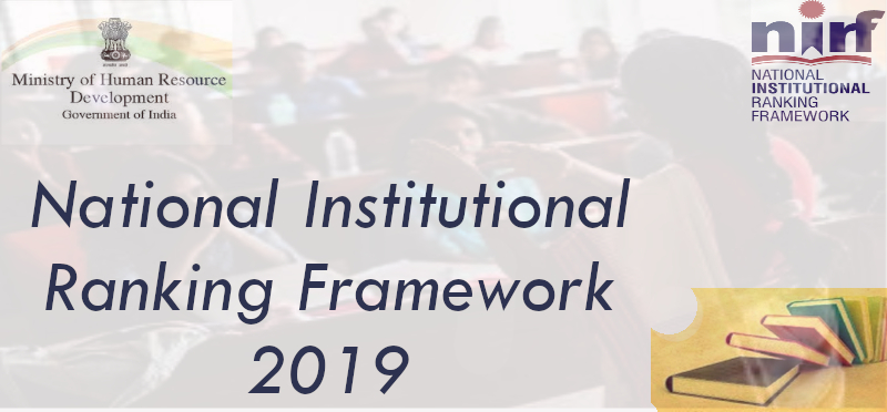 National Institutional Rankings 2019