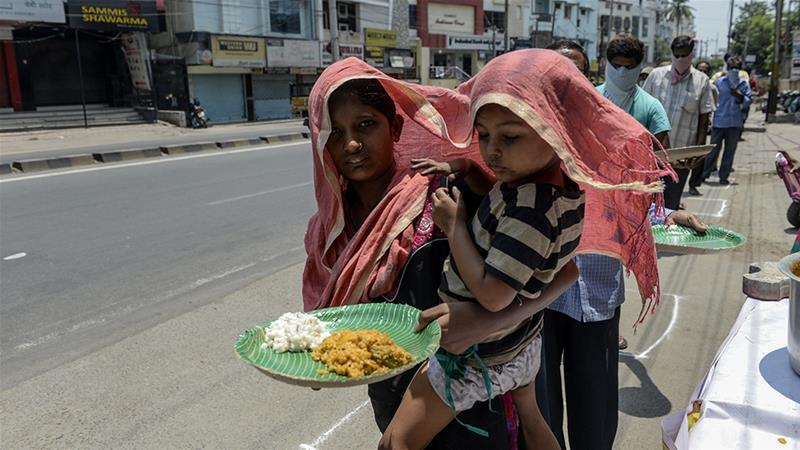 the International Commission of Jurists (ICJ) claims that India is on verge of a food crisis due to COVID-19 pandemic.