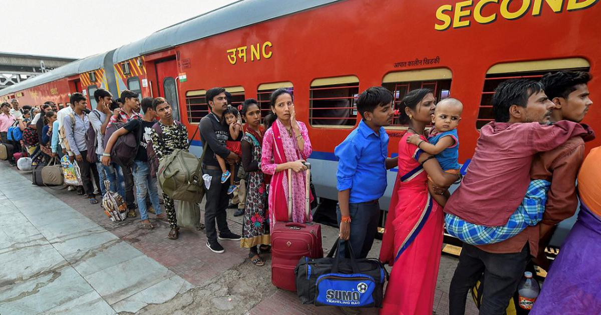 The Ministry of Home Affairs, on April 29th, issued an order on the movement of people stranded by trains.