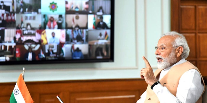 PM Modi's address to the nation came a day after a six-hour meeting with Chief Ministers.