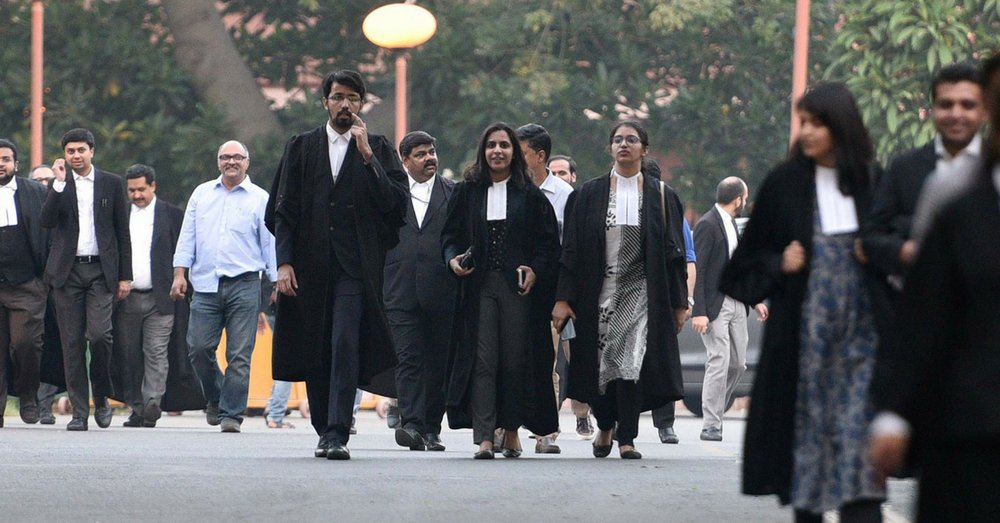 the Supreme Court notified relaxation in the dress code; for lawyers appearing before the court via video conferencing.