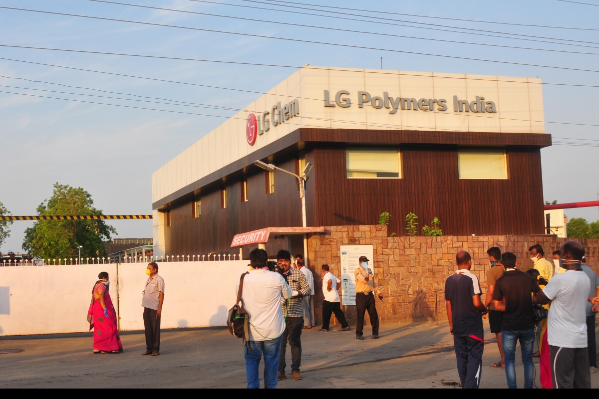 Supreme Court consents 30 employees from LG Polymers to assess the chemical plant in Vizag, where the horrific Gas Leak incident took place on May 7, 2020.