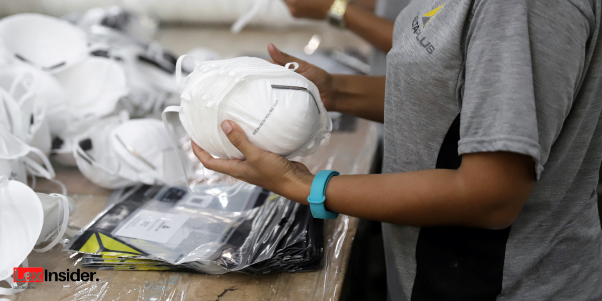 The petitioner alleges that multiple dealers and traders offering to sell the N95 masks at a markup of over 150% contacted them.