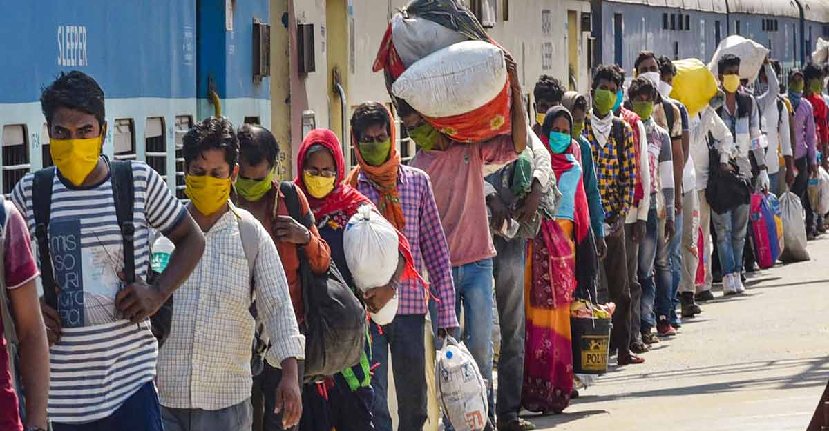 The commission noted that these migrant labourers are distressed people; they have already suffered a lot at distant places.