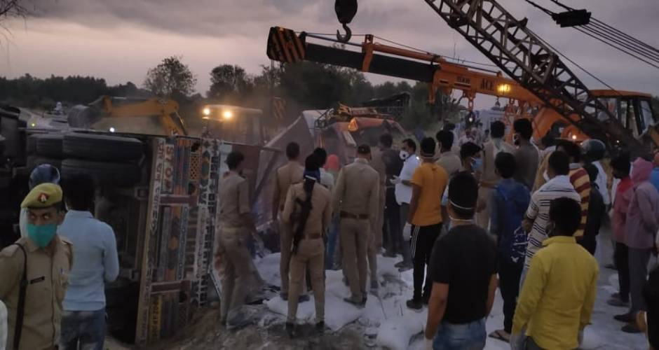Reportedly, 26 migrant labourers lost life and more than 30 sustained injuries in the fatal accident