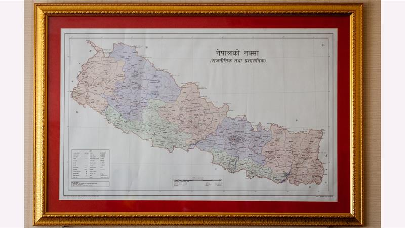 Nepal's newly released map in its national emblem is said to include Indian Territories.
