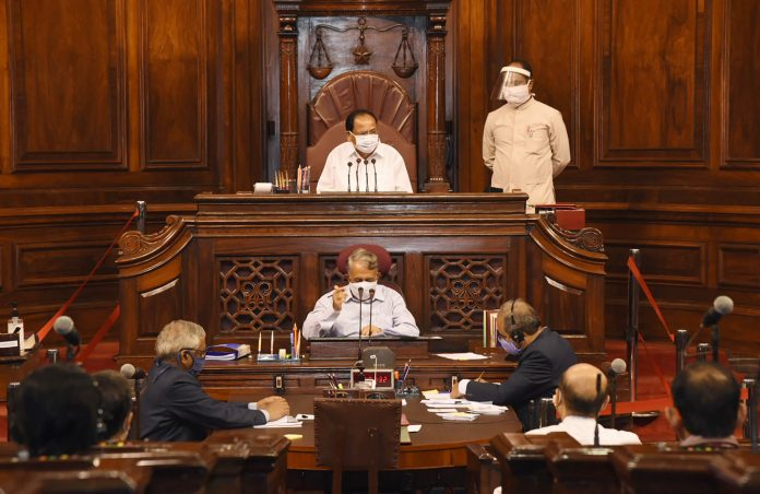 Suspension of Question Hour in the Monsoon Session of 2020